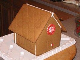 Gingerbread House Assembled
