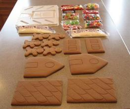 Consider A Gingerbread House Kit