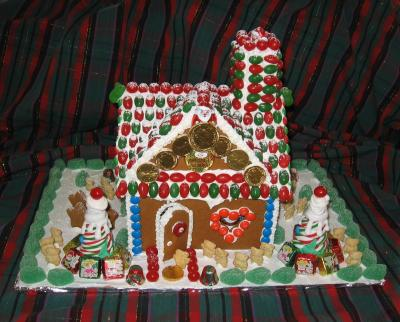 A Candy House for The Kamloops Woman's Shelter
